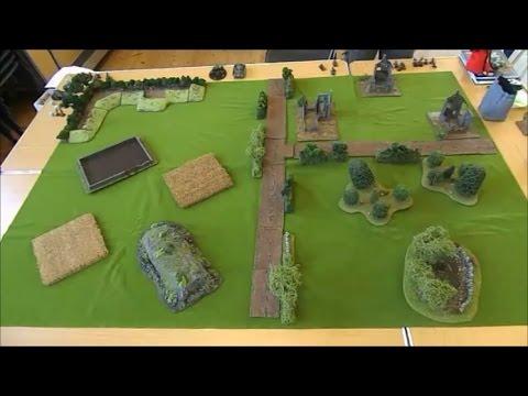 Bolt Action British  force Vs Fallschirmjäger Part 1