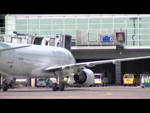 Air Armenia At Frankfurt Airport (Armenian Subtitles)