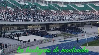 Les hooligans de Mouloudia contre csc HD