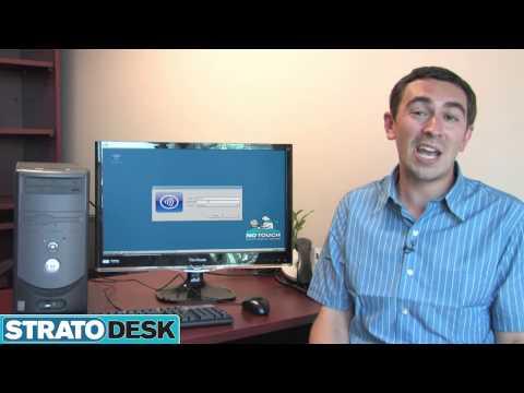 Stratodesk's NoTouch Desktop - YouTube