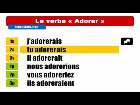 FRENCH VERB CONJUGATION = Adorer = Conditionnel Présent