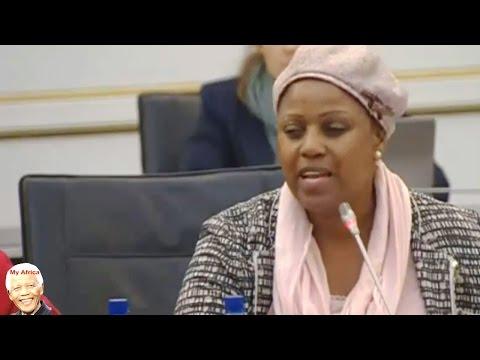SAA Chair Dudu Myeni  Speaks At Standing Committee On Finance
