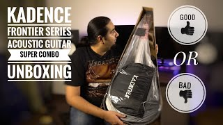Kadence frontier series Acoustic Guitar Super Combo- Better than branded guitars??