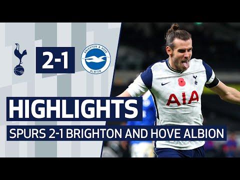 HIGHLIGHTS | SPURS 2-1 BRIGHTON | HARRY KANE PENALTY AND GARETH BALE WINNER