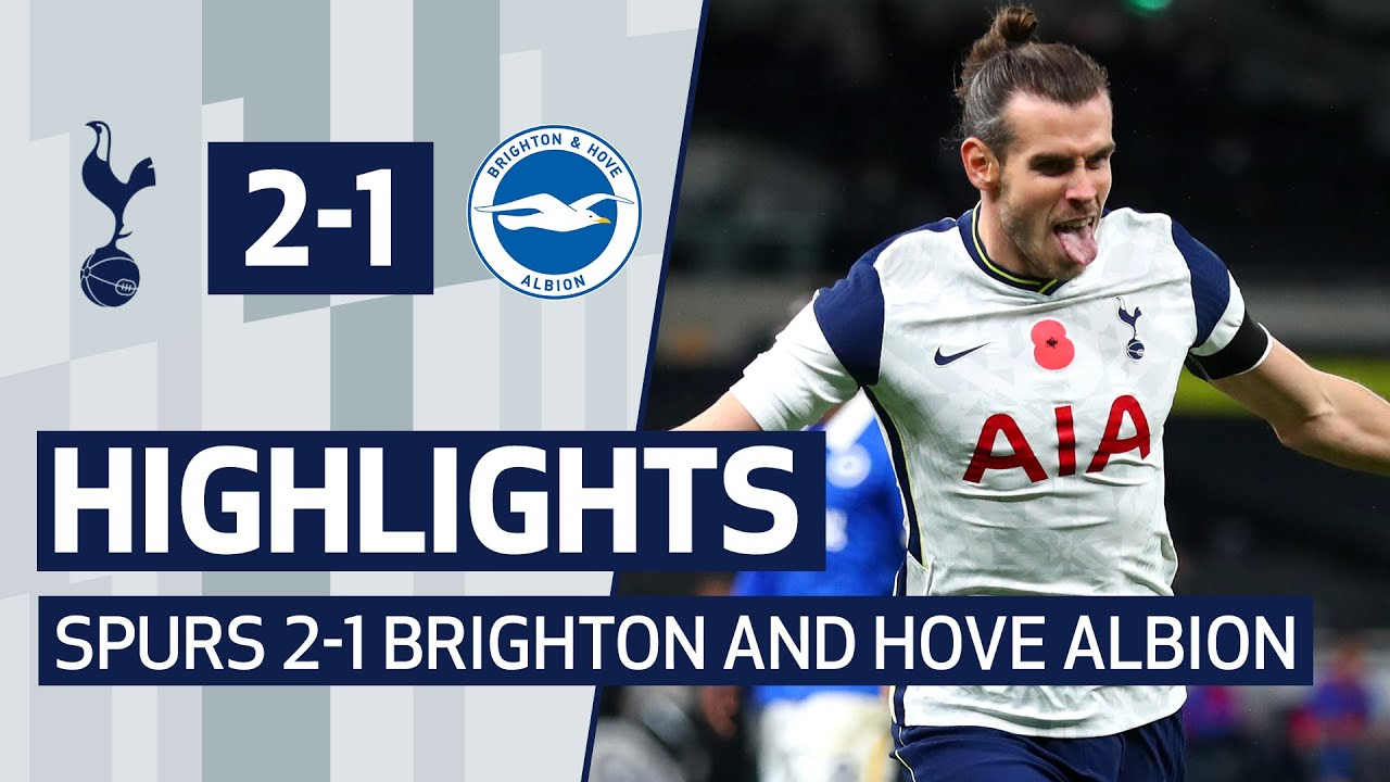 HIGHLIGHTS | SPURS 2-1 BRIGHTON | HARRY KANE PENALTY AND GARETH BALE WINNER