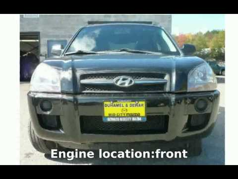2008 Hyundai Tucson 2.0 GLS - Features and Specification