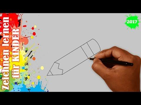 Bleistift zeichnen in 60s – Zeichnen lernen für anfänger & kinder