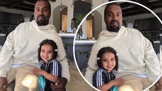 Kanye West snuggles up next to niece Dream Kardashian for 'best picture ever' says dad Rob Video