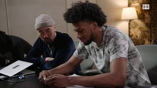 """Marvin Bagley III Drops Exclusive Track """"Thoughts in the A"""" Before NBA Draft"""