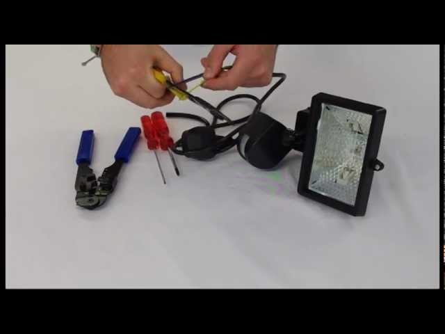 [DIAGRAM_4FR]  How to wire a floodlight - YouTube | Wiring Diagram For A Flood Light |  | YouTube