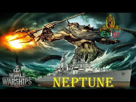 World of Warships Gameplay ITA - Neptune God of the Sea - Exige