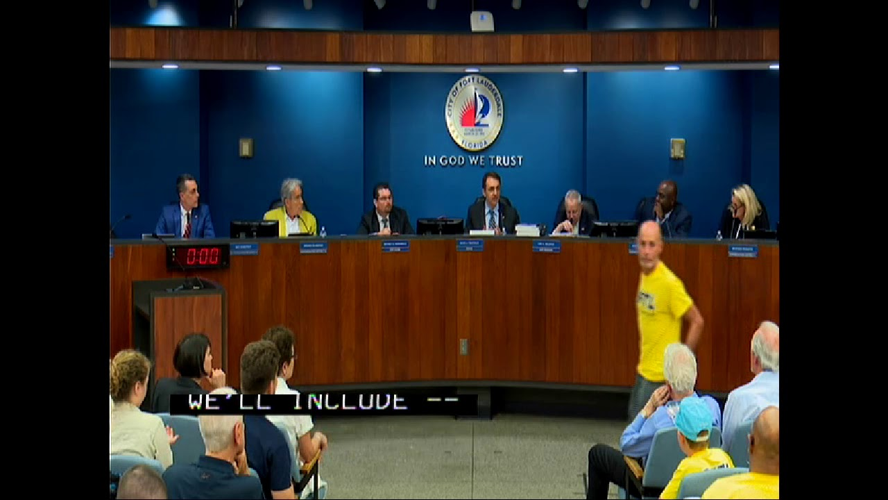 City Of Fort Lauderdale Votes Yes To Budget Passing Of International Swimming Hall Of Fame