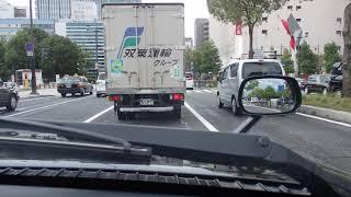 【タクシー車載映像】台風10号接近時の様子 一部再UP