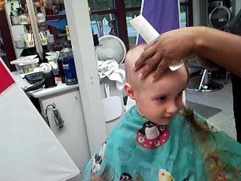 Nickys Buzz Cut YouTube
