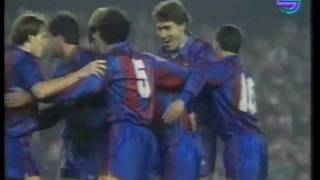 Fc Barcelona - Real Madrid 2-1 1990-1991