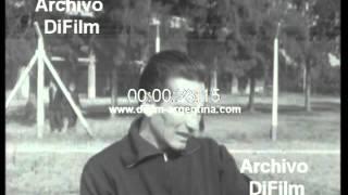 DiFilm - Seleccion Argentina entrena con Carmelo Faraone (1967)
