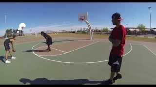 jay scott vs xp one on one basketball game rip jay scott   ahat hoops