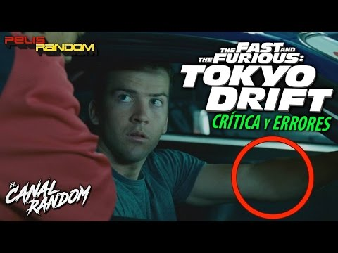 Movie Mistakes Fast and Furious 3 Tokyo Drift Tokyo Race (Spanish Audio)