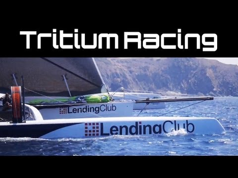 Tritium Lending Club | Onboard for the Start of the Transpacific Yacht Race 2013