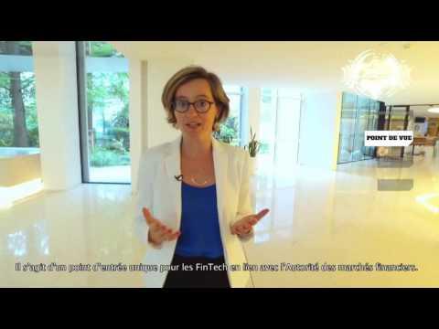 Nathalie Beaudemoulin présente le pôle ACPR FinTech Innovation