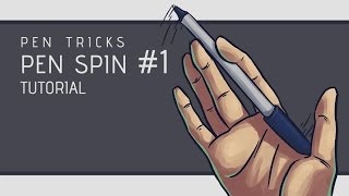 Pen Tricks: Pen Spin #1 Tutorial