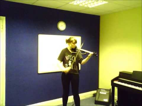 Electric Violin   Lucy   Fire    A to G Music School   Sutton   Teacher   Lessons