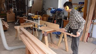 Making lots of baseboard molding