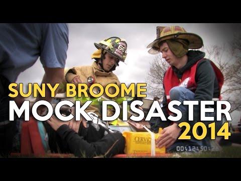 SUNY Broome Mock Disaster 2014