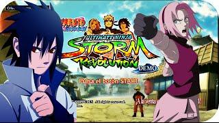 Naruto Shippuden Ultimate Ninja Storm Revolution - » DEMO « - Español [HD]