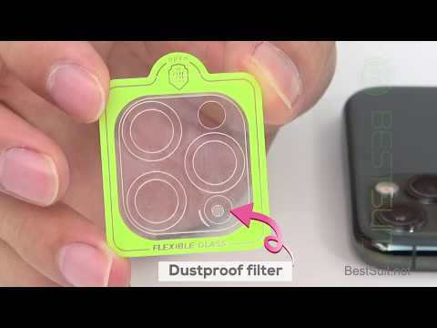 IPhone 11 Camera Screen Protector Film, Integrated Dustproof Camera Protector Film--BESTSUIT