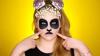 hipster panda snapchat filter inspired tutorial