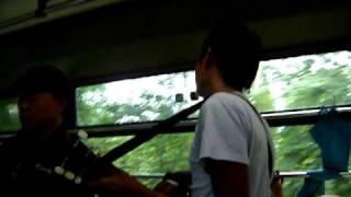 mood mra atas bas dari probolinggo ke surabaya jawa timur indonesia