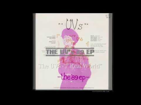 """The UVs - Adelaide band -   """" Real World"""""""