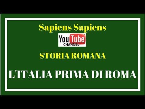 l'Italia prima di Roma (dal paleolitico all'VIII sec. A.C.) - Lez. 1 - Storia romana