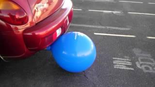 Balloon on exhaust of PT Cruiser