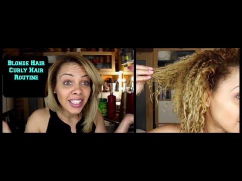 best hair care routine for damaged hair blonde hair