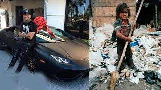 Fakir Çocuk Lamborghinin Anahtarını Buldu ve Sahibine Verdi. Aldığı Ödül İle Hayatı Değişti