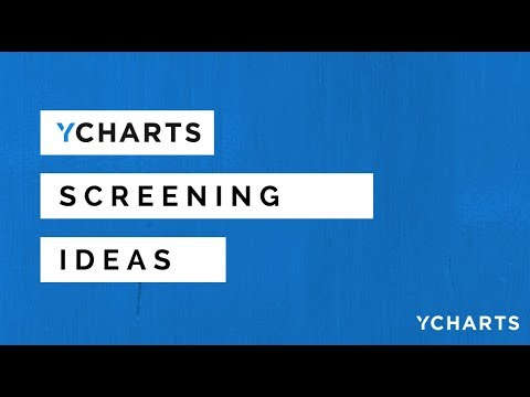 Using the YCharts Screener to find TIPS Securities