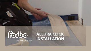 Forbo Flooring Systems Allura Click installation video