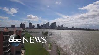 Louisiana braces for impact as Tropical Storm Barry draws near