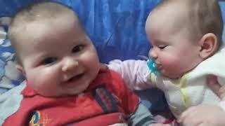 güldüren bebek videosu