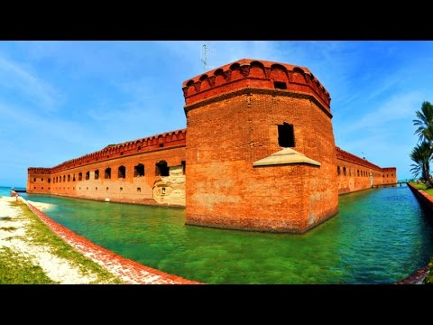 Dry Tortugas - Fort Jefferson, Florida - 2016 HD