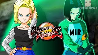 "ABSOLUTELY INSANE DAMAGE WITH THE ANDROIDS! - Dragon Ball FighterZ: ""Android 17"" Gameplay"