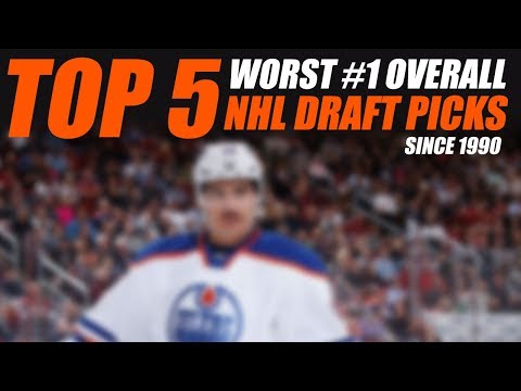 Top 5 Worst #1 Overall NHL Draft Picks Since 1990