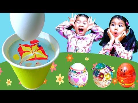 ウォーターマーブルでイースターエッグを作ろう!himawari-CH