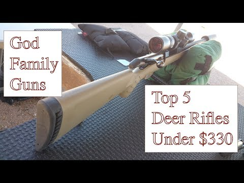 Top 5 Deer Rifles Under $330