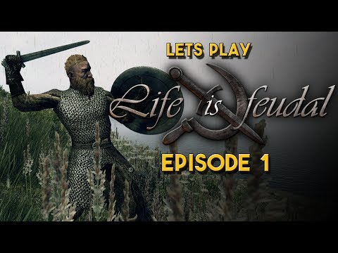 Life is Feudal Your Own   Let's Play   A nicely Terraformed area all to ourselves