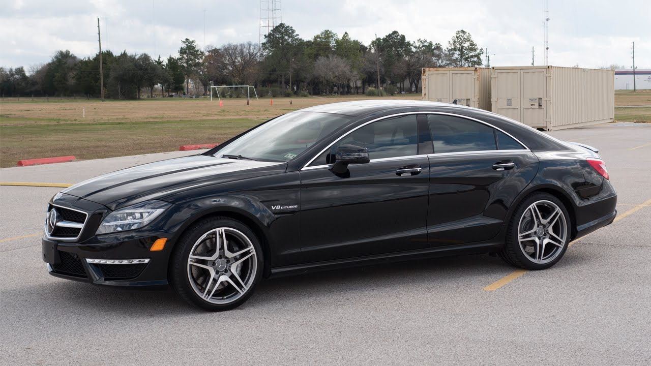 2014 mercedes benz cls63 amg review in detail start up exhaust sound and test drive youtube