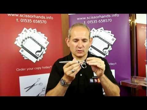 """Hairdressing Scissors & Hairdresser Scissors - Scissorhands Ergo 6.0"""" Hairdressers Scissor"""