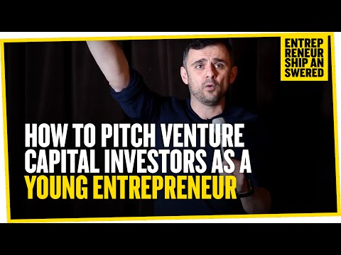 How to Pitch Venture Capital Investors as a Young Entrepreneur